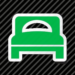 bedroom, furniture, hotel, room, service, sleep, trip icon