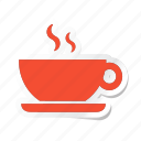 acomodation, coffee, cup, drink, hot, hotel, tea icon