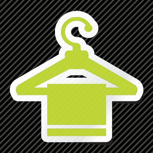 acomodation, clothing, fashion, hanger, hanger icon, hotel, style icon