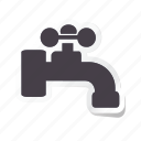 acomodation, hand, hotel, room, service, tap, water icon icon