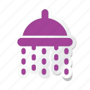 bath, hotel, shower, trip, washroom icon icon