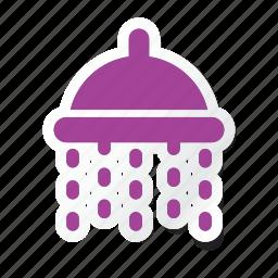 bath, hotel, shower, trip, washroom icon icon