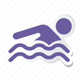 hotel, pool, service, sports, swim, swimming, water icon