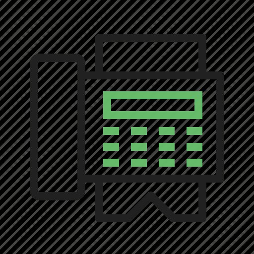 data, equipment, fax, information, machine, send, transfer icon
