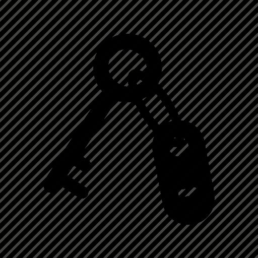 door, key, lock, lockpad, open, secure icon