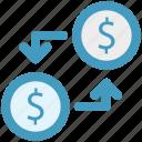 coin, connection, dollar, fund, money, network