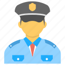 bodyguard, police officer, protection duty, security guard, security officer icon