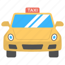 cab service, car service, public transport, rental service, taxi cab icon