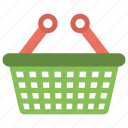 basket, fruit basket, grocery basket, shopping basket, vegetable basket icon