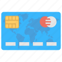 atm card, bank card, credit card, debit card, visa card icon
