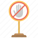halt, signboard, stop sign, traffic sign, warning sign icon