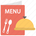 food menu, menu design, menu template, restaurant menu, template icon