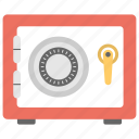 combination, locker, money locker, safe, safe locker icon