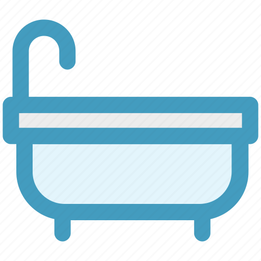 bath, bathing tub, bathroom, bathtub, hygiene, jacuzzi tub, tub icon