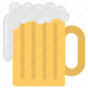 alcohol, beer foam, beer glass, drinking beer, soda icon