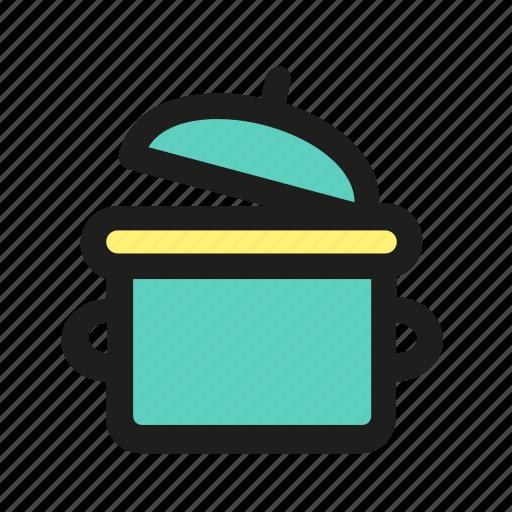 cookwear, dish, pan, pot, souser icon