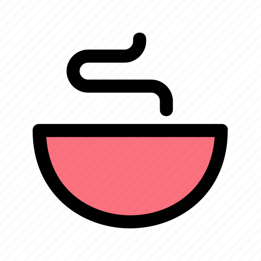 bowl, dish, plate, soup, tureen icon