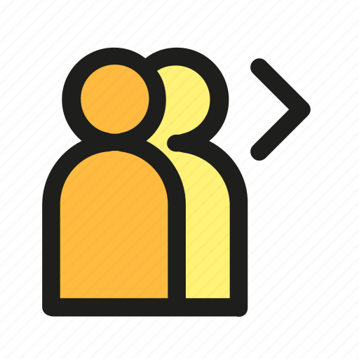 clients, contacts, people, person, users icon