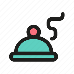 dish, food, hot, meal, restaurant icon