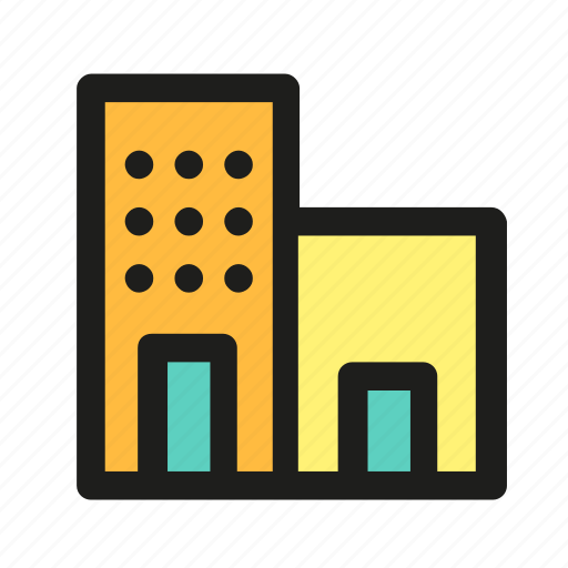 building, hostel, hotel, house, motel icon