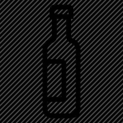alcohol, beerbottle, bottle, drink, glass, plasticbottle, wine icon