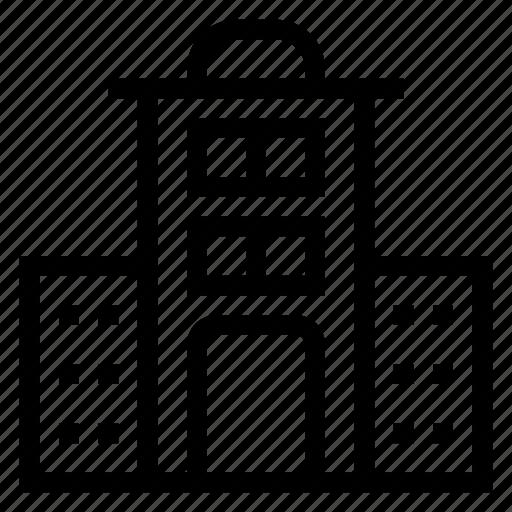 building, buildingicon, construction, estate, house, officebuilding, real icon
