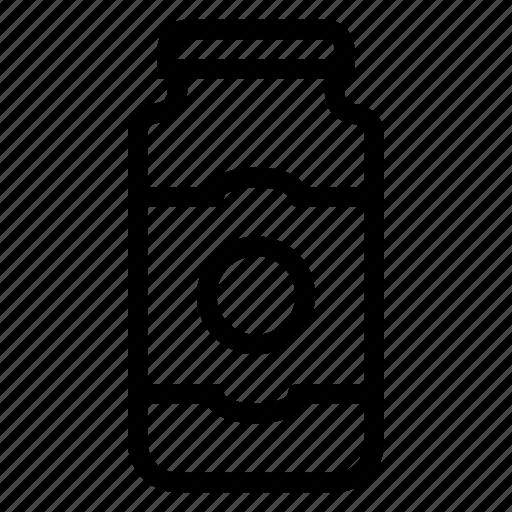 Food, fruitjam, jam, jamjar, jar, marmalade, sweet icon - Download on Iconfinder