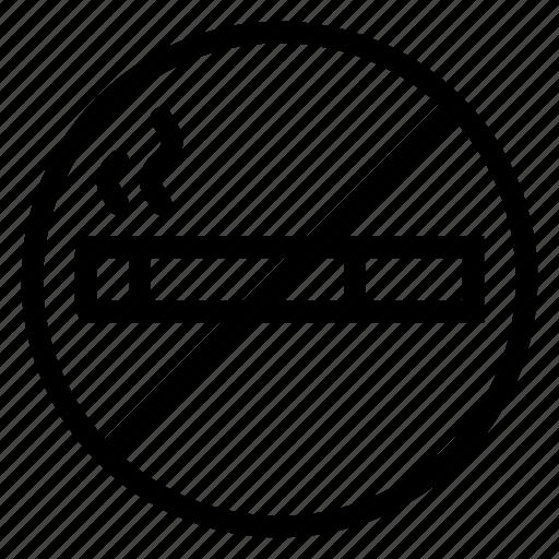 cigarette, forbidden, prohibited, sign, smoke, smoking, stopsmoking icon