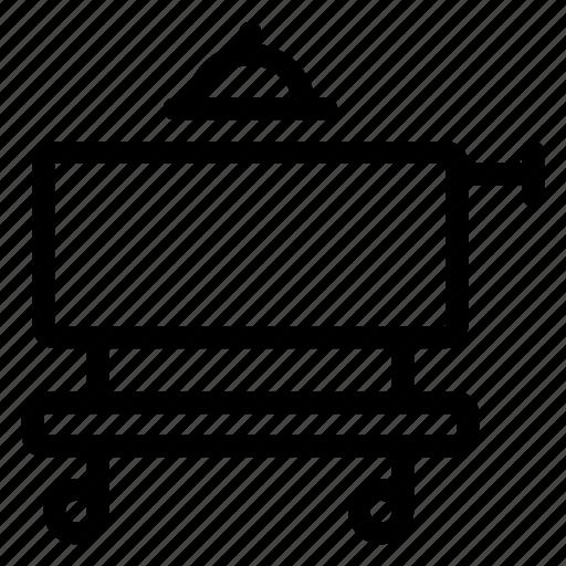 cart, ecommerce, luggage, shopping, supermarket, trolley, trolleycar icon