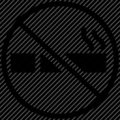 cigarette, forbidden, no smoking, smoking icon