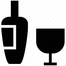 alcohol, beer, bottle, glass, wine icon