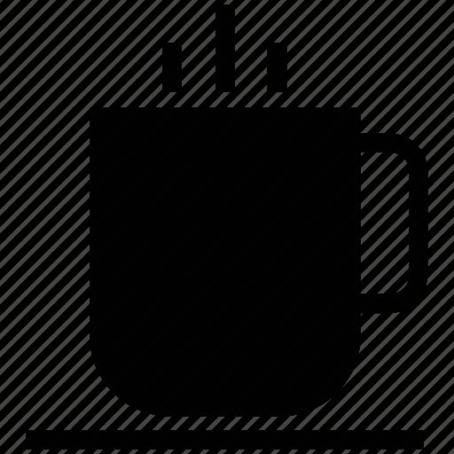 coffee cup, cup, hot coffee, hot tea, tea, tea cup icon