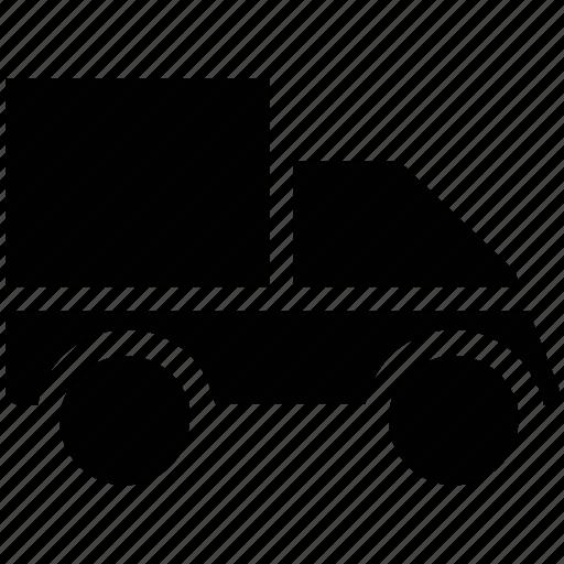 cargo, delivery, pickup, transport, van, vehicle icon