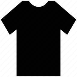half sleeve t shirt, plane t shirt, round neck shirt, round neck t shirt, shirt, t shirt icon