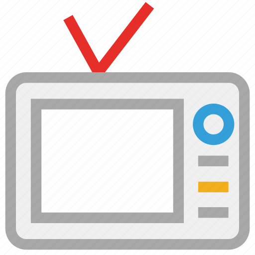 channels, monitor, television, tv icon