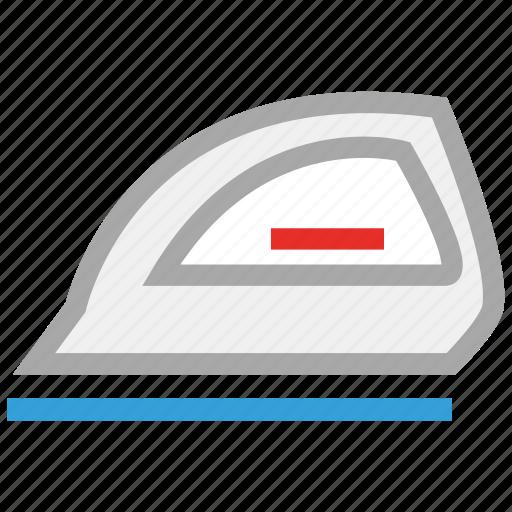 electric iron, iron, ironing, ironing tool icon