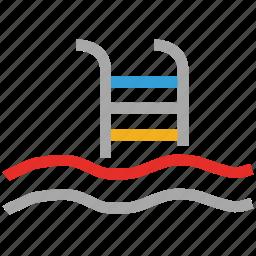 pool, resort swimming pool, swimming, swimming pool icon