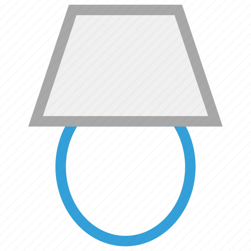 decorative lamp, lamp, light, table lamp icon