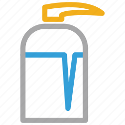liquid, liquid soap, soap, soap dispenser icon