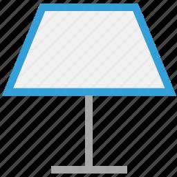 decorative lamp, lamp, light, table lamp icon