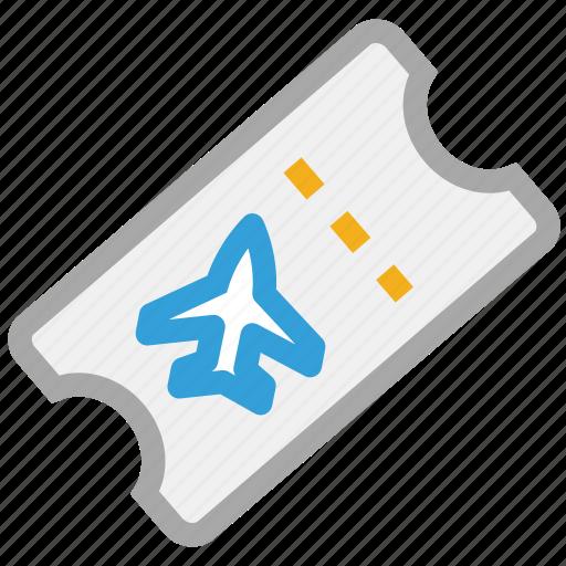 air plane ticket, flight ticket, ticket icon