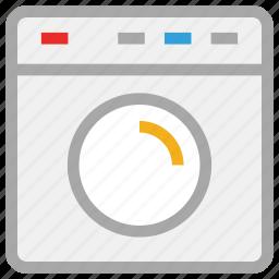 laundry machine, machine, washing, washing machine icon