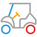 electric cart, golf cart