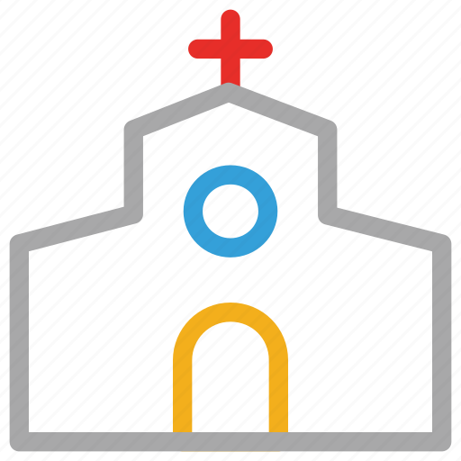 building, christianity, church, temple icon