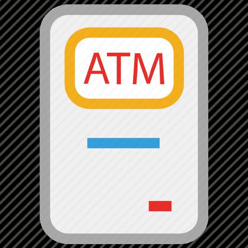 atm, atm machine, bank, money icon