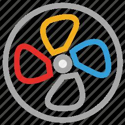 cooler, fan, heating fan, ventilator icon