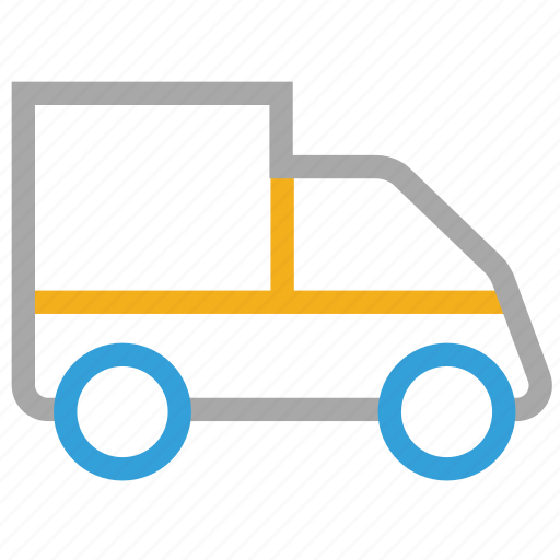 delivery van, hotel service, van, vehicle icon