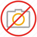 camera not allowed, no camera sign, no photo camera, no photography icon