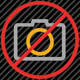 camera not allowed, no camera sign, no photo camera, no photography icon