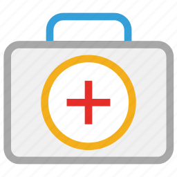 firs aid bag, first aid kit, medical bag, medicine bag icon